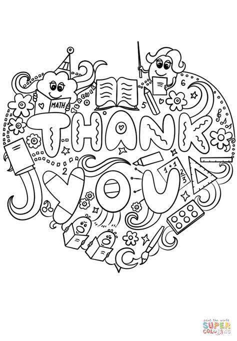 Coloring For You by Thank You Doodle Coloring