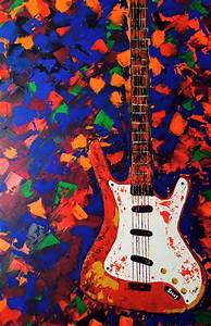Guitar Paintings Art | www.imgkid.com - The Image Kid Has It!