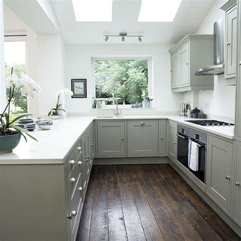 grey shaker cabinets kitchen white shaker style kitchen with grey units shaker style