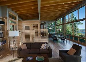 Lake, Cabin, Design, With, An, Amazing, Open, Concept, Layout