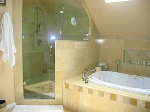 shower jacuzzi tub mediterranean bathroom new york With bathroom designs with jacuzzi tub