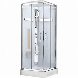 Cabine De Douche 90x120 : cabine de douche carr 90x90 cm ilia ch ne leroy merlin ~ Edinachiropracticcenter.com Idées de Décoration