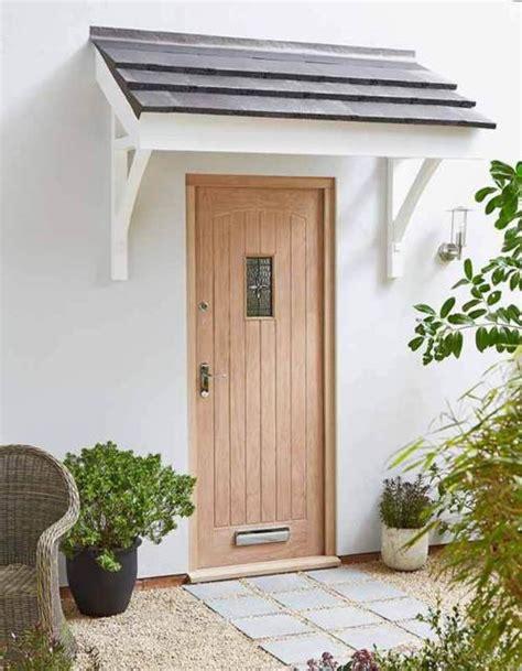 front door canopy ideas  spruce   home