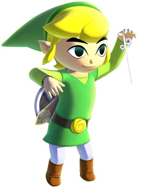 Hd Link And Wind Waker The Legend Of Zelda The Wind Waker