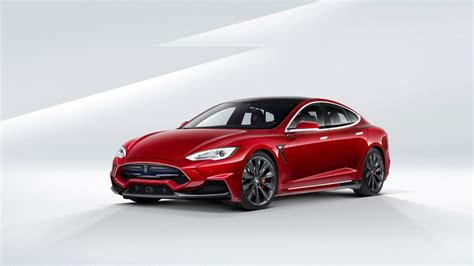 2015 Larte Tesla Model S Wallpaper