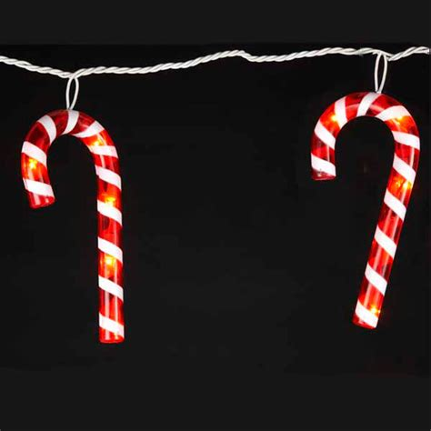 novelty lights oogalights more than 1 000 string light bulbs - Candy Cane String Lights