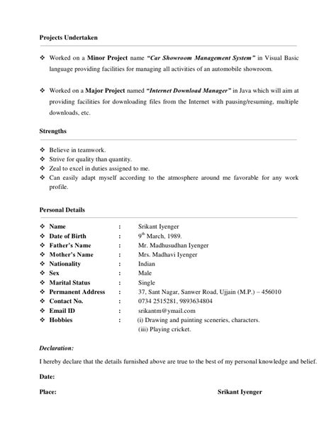 Easily Adaptable Resume by My Resume Pdf