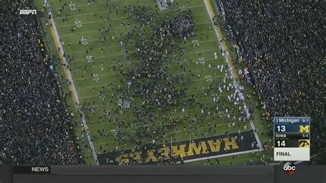 michigan falls  iowa  complete upset saturday