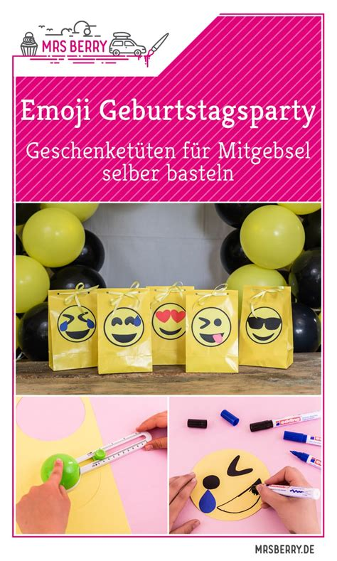 Geburtstagsparty Deko Ideen by Emoji Diy Geburtstagsparty Deko Ideen Mrsberry Familien