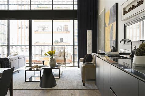 Modern Industrial Interior Design In Beautiful Open