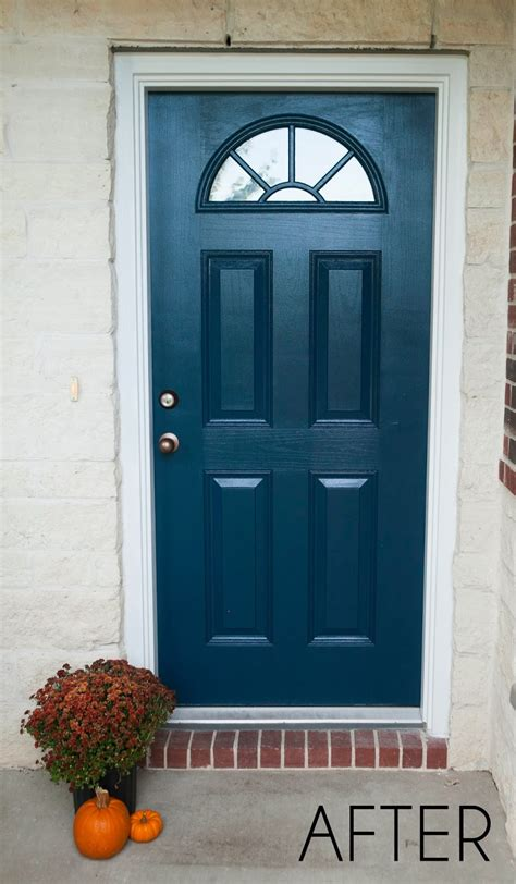 Mybellabug  Curb Appeal Freshly Painted Front Door
