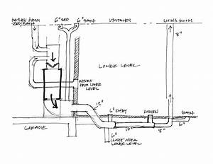 Sketch Diagram Residential Plumbing