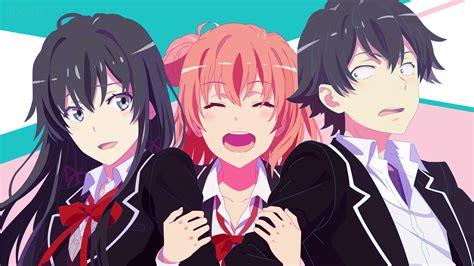 anime comedy boy my comedy snafu 8k ultra hd wallpaper and