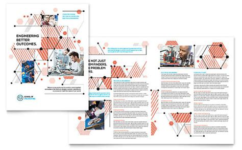 Free Indesign Templates Technology Company Brochures Business Brochure Templates Brochure Designs Layouts