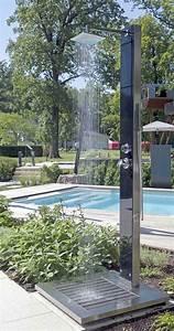 Edelstahl Pool Kaufen : gartendusche pool freibad die schnelle und unkomplizierte erfrischung wellness erholung ~ Markanthonyermac.com Haus und Dekorationen
