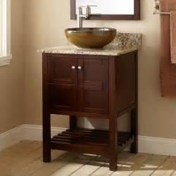 24 vessel sink vanity 24 quot everett vessel sink vanity wenge console vanities