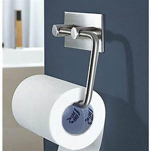 Toilet, Paper, Holder, Storage, Tissue, Roll, Wall, Mount, Adhesive, Bathroom, Kitchen, New