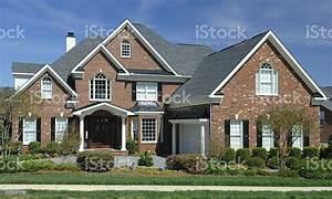 Suburban, Home, Extrerior, Stock, Photo, -, Download, Image, Now