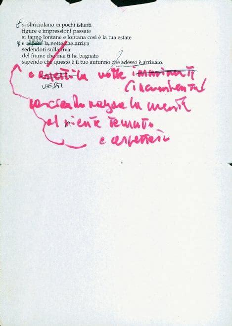 testo eskimo guccini i manoscritti di francesco guccini repubblica it