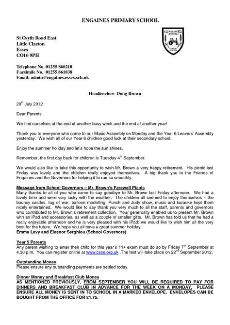 Letter Heading. formal letter