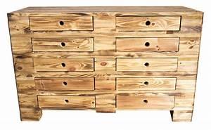 Vintage Industrial Möbel : m bel vintage kommode aus palettenholz im industrial style 120x47x72cm ~ Markanthonyermac.com Haus und Dekorationen