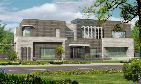 Karachi 2 Kanal Modern Contemporary Beautiful House Design
