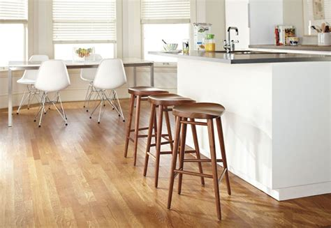 design stools for kitchen 10 cool and casual backless bar stools interior design 6609