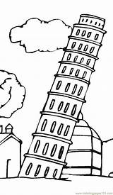 Pisa Tower Leaning Coloring Printable Drawing Parthenon Sightseeing Twit Google Coloringpages101 Architecture Clipartbest Getcolorings sketch template