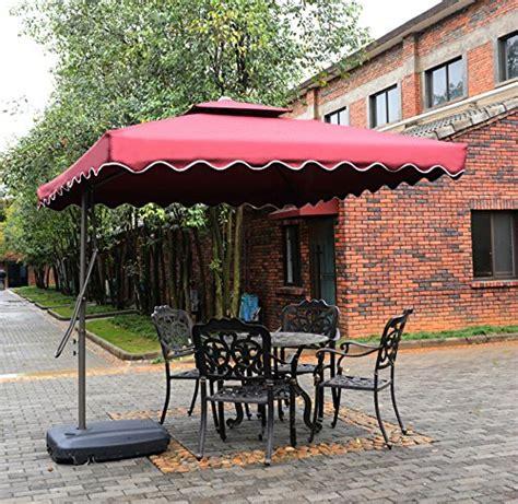 tylor s garden 7 1 2 ft cantilever outdoor patio umbrella
