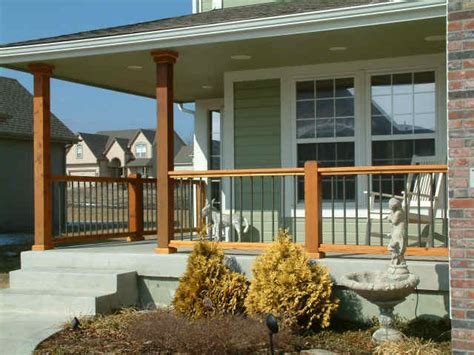 front porch railing ten tips for outdoor home improvement raftertales home
