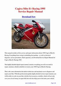 Download 1995 Cagiva Mito Ev Racing Workshop Manual By