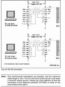 Rs 232 Wiring Diagram Help   Plc