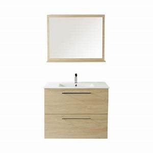 attrayant meuble salle de bain castorama colonne 3 With meuble miroir salle de bain castorama