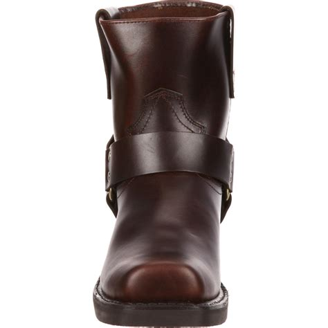 size 14 motocross boots durango men 39 s 7 quot short brown harness boot style db714
