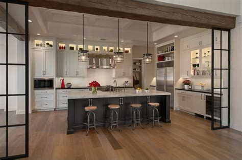 ideas de decorar las cocinas abiertas al salon