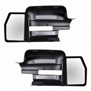 Clip On Mirror Extension Lh  U0026 Rh Pair Set Of 2 For 09