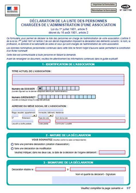 changement de bureau association loi 1901 changement du bureau d une association 28 images mod c3 a8le proc c3 a8s verbal association