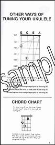 Ukulele Chord Dictionary Handy Guide Chord Book
