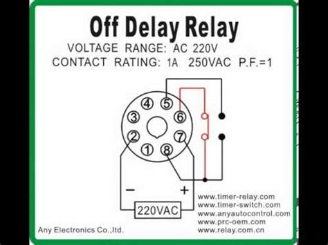 delay relay timer switch