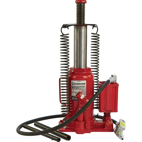 shipping strongway  ton airhydraulic bottle jack