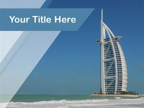 template uae ppt free sea powerpoint templates myfreeppt