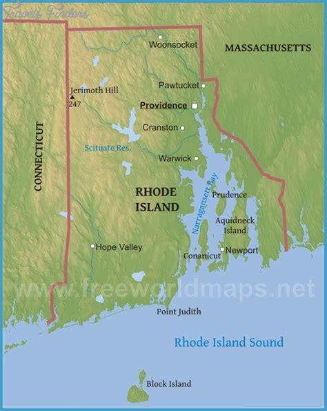map  rhode island travelsfinderscom