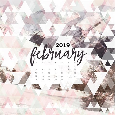 february  calendar spanish pictures  printable