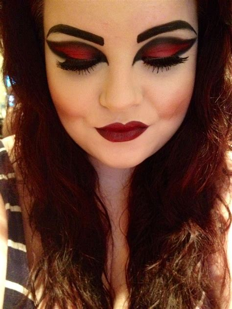 pretty hot halloween makeup inspirations godfather style