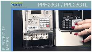 Pph23gt  Single Phase Integrated Prepaid Meter