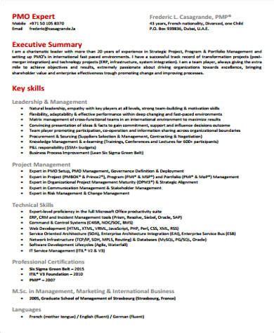 executive summary resume 7 sample executive director resumes sample templates 21646 | Executive Director Resume Summary