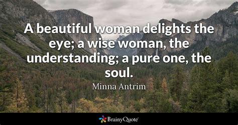 minna antrim  beautiful woman delights  eye  wise