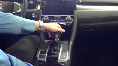 Shift Lock Release  2017 Honda Civic Youtube