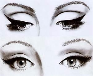 Dessin Facile Yeux : dessin maquillage yeux filles pinterest maquillage yeux yeux et maquillage ~ Melissatoandfro.com Idées de Décoration