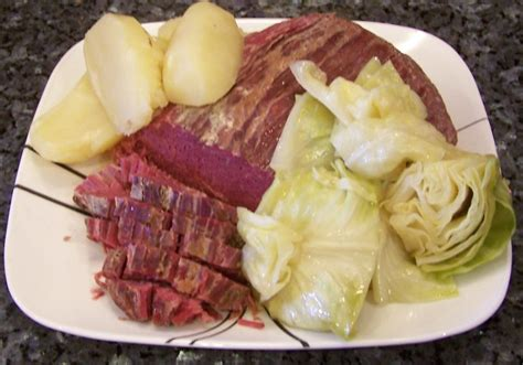 corned beef with cabbage recipe dishmaps